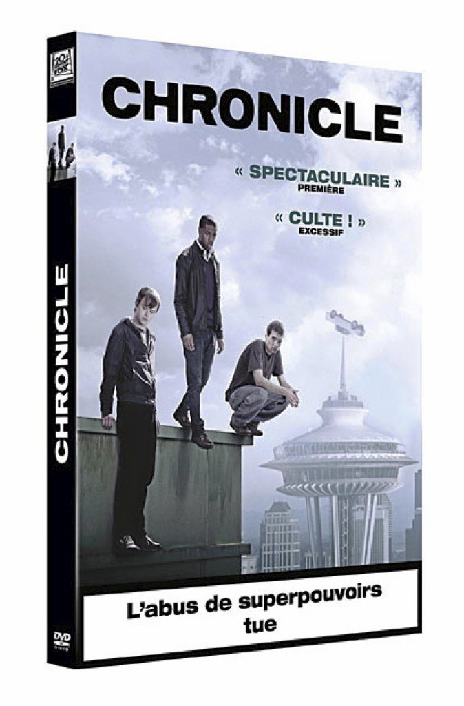 Chronicle, DVD Fox Pathé. 19,99 €.
