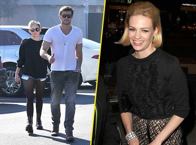 Liam Hemsworth : accusé d'avoir trompé Miley Cyrus avec January Jones !