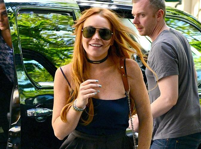 Lindsay Lohan : à peine sortie de désintoxication elle fait la fête toute la nuit !