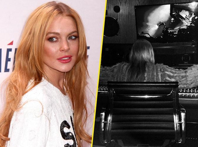Lindsay Lohan : de retour en studio pour enregistrer son nouvel album !