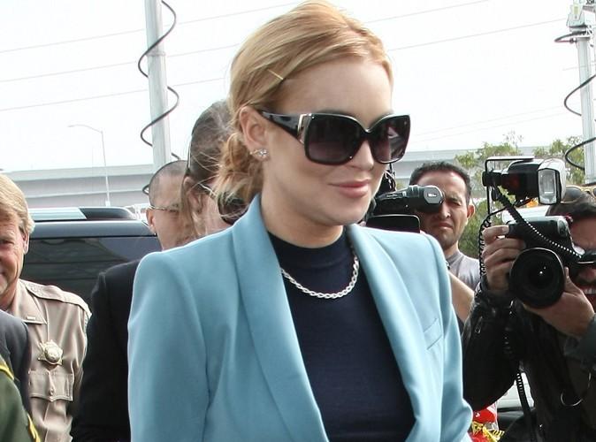 Lindsay Lohan : elle a fêté sa liberté avec modération !