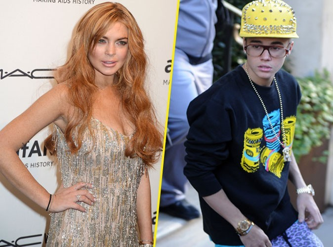 Lindsay Lohan en colère contre Justin Bieber !