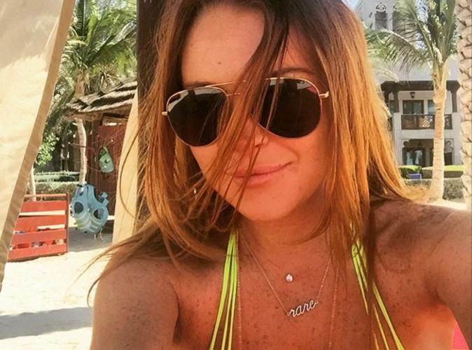 Lindsay Lohan : en vacances à Dubaï, elle dégaine le bikini sexy !
