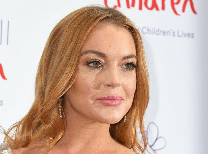 Lindsay Lohan : L'actrice s'est coupée un doigt en deux !