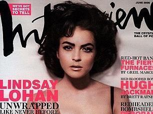 Linsday Lohan : découvrez-la dans la peau d'Elizabeth Taylor !