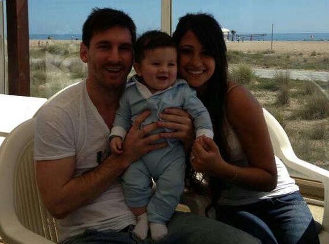 Papa Depuis Le 2 Novembre Dernier Dun Petit Thiago Lionel Messi A