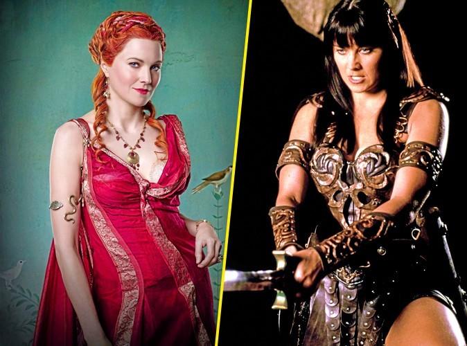 Lucy Lawless : de Xena à Spartacus : elle fait fantasmer les hommes !