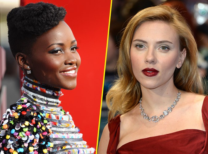 """Lupita Nyong'o et Scarlett Johansson : prochaines vedettes du """"Livre de la Jungle"""" ?"""