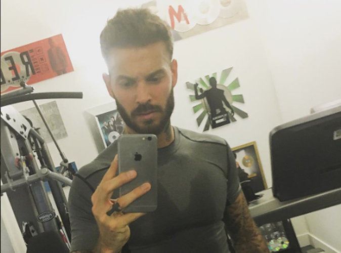 m pokora son selfie tout mouill apr s une s ance de sport sexy. Black Bedroom Furniture Sets. Home Design Ideas