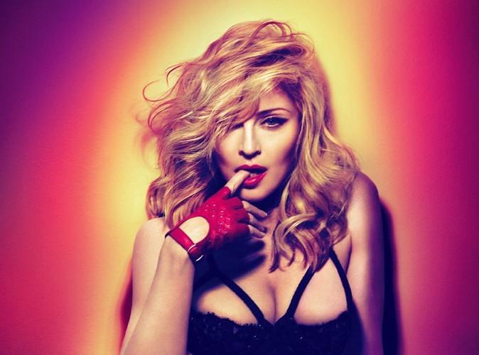 Madonna : accusée de promouvoir la consommation d'ecstasy !