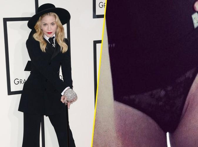 Madonna : elle s'affiche en dessous sexy sur Instagram... Avant de se raviser !