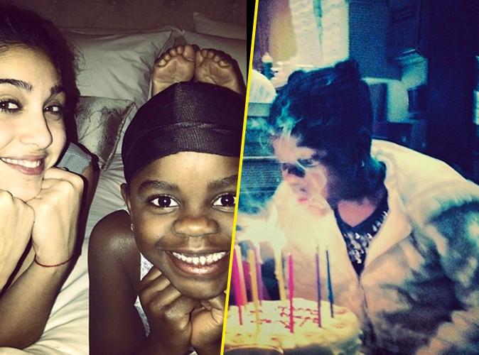 Madonna : loin de ses dérapages, elle nous fait partager l'anniversaire de sa fille Mercy James !
