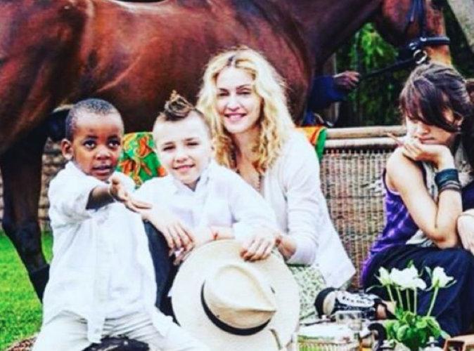 Madonna : nostalgique du temps où elle n'était pas fachée avec son fils Rocco!