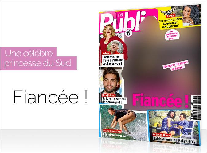 Magazine Public : une princesse du Sud en couverture... Elle est fiancée !