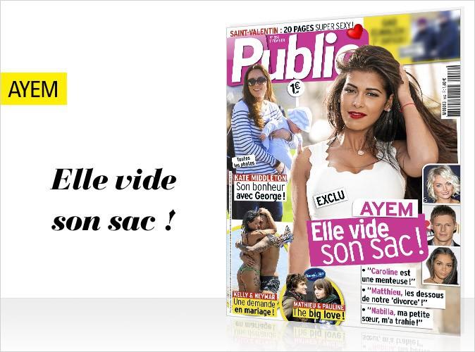 Magazine Public : Ayem en couverture : elle sort de son silence !