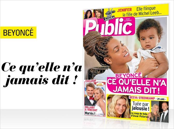 Magazine Public : Beyoncé en couverture !
