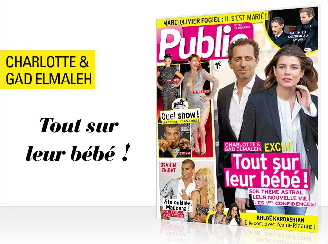 Magazine Public : Charlotte Casiraghi en couverture de notre numéro en vente exceptionnellement demain à Paris et en Ile-de-France !