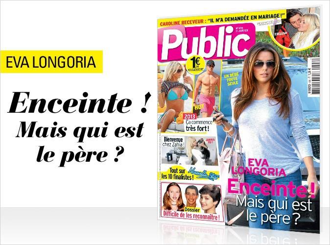 Magazine Public : Eva Longoria en couverture !