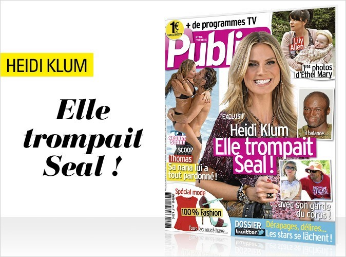 Magazine Public : Heidi Klum en couv !