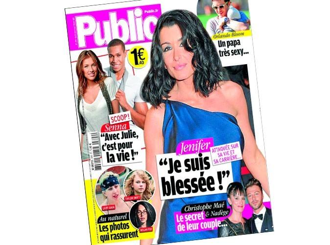 """Magazine Public : Jenifer : """"Je suis blessée !"""""""