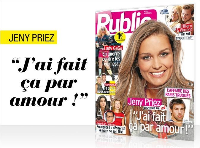 Magazine Public : Jeny Priez en couv !