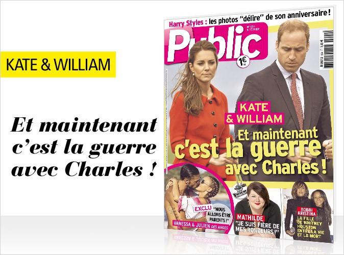 Magazine Public : Kate Middleton en couverture... Et maintenant, c'est la guerre avec Charles !