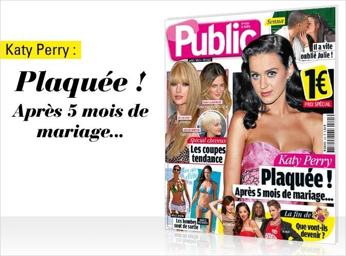 Magazine Public : Katy Perry en couv !