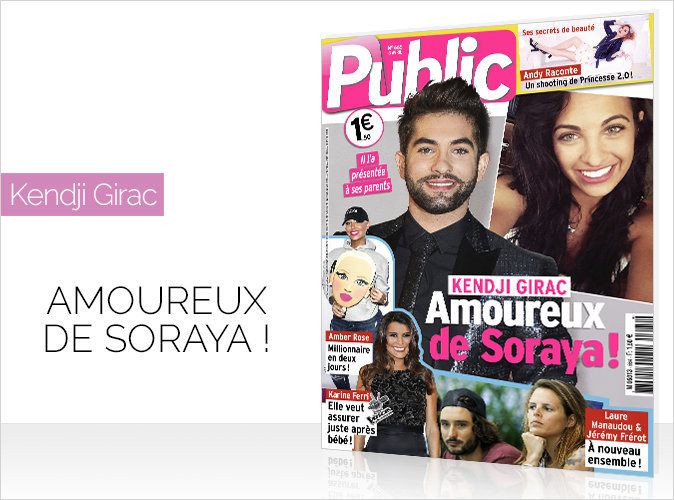 Magazine Public : Kendji Girac amoureux de Soraya !