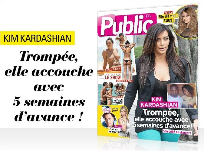 Magazine Public : Kim Kardashian en couverture !