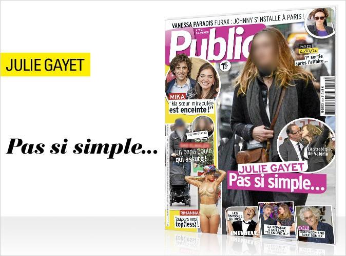 Magazine Public : l'attente insupportable de Julie Gayet en couverture !
