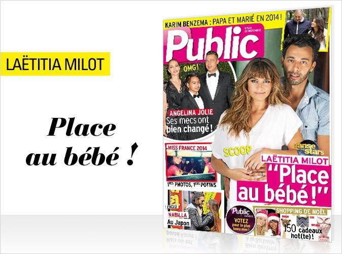 """Magazine Public : Laëtitia Milot : """"Place au bébé"""" !"""