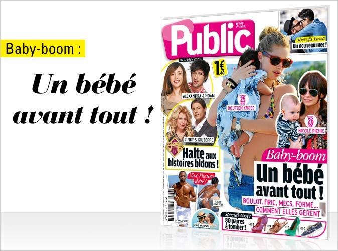 Magazine Public : le baby-boom des stars en couv !