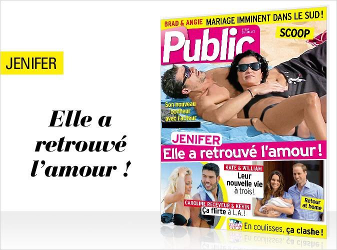 Magazine Public : le nouveau mec de Jenifer en exclu dans Public !