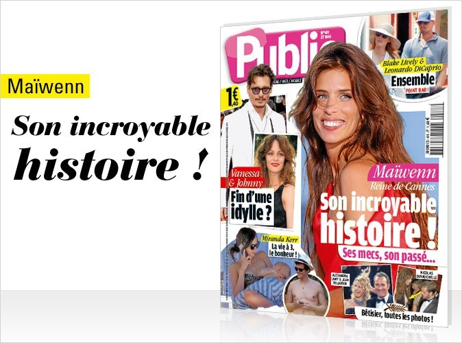 Magazine Public : Maïwenn Le Besco en couv !