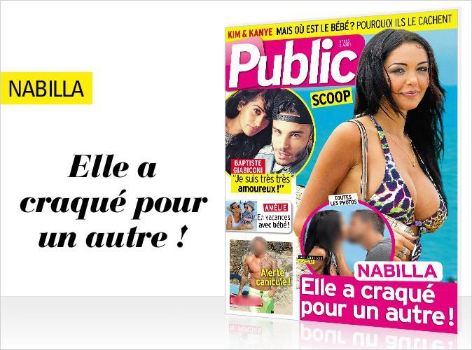 Magazine Public : Nabilla avec un nouveau mec en couverture !