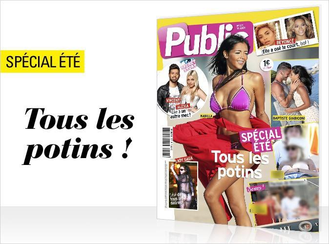 Magazine Public : Nabilla et Baptiste Giabiconi en couverture !
