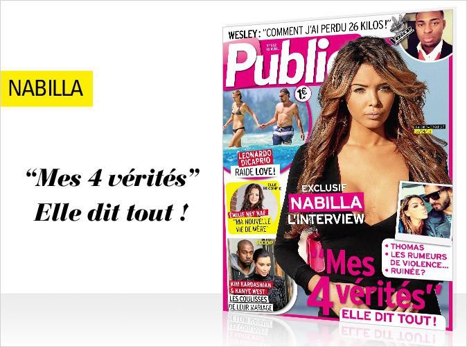 Magazine Public : Nabilla : toute la vérité sur son histoire avec Thomas en couverture ! Interview exclusive !