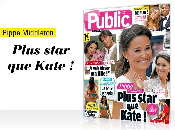 Magazine Public : Pippa Middleton en couv !