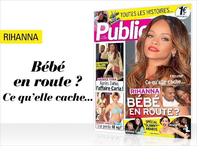 Magazine Public : Rihanna en couverture !