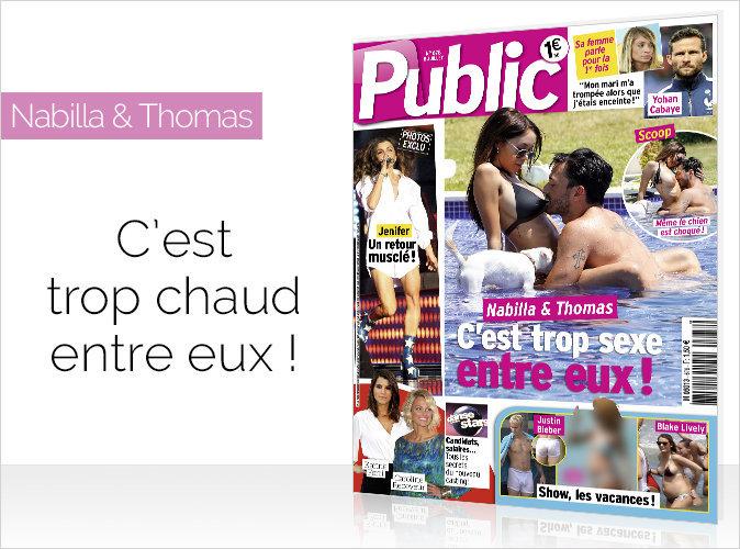 Magazine Public : Scoop ! Nabilla et Thomas, c'est trop chaud entre eux !