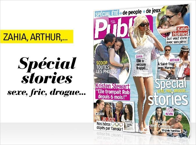 Magazine Public : spécial stories ! Sexe, fric, drogue...