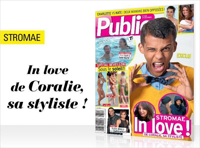 Magazine Public : Stromae en couverture : tous les détails de son histoire d'amour avec Coralie, sa styliste !