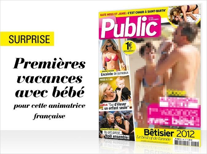 Magazine Public : une célèbre animatrice française en couverture !