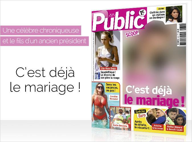 Magazine Public : Une future chroniqueuse et le fils d'un ancien président : C'est déjà le mariage !