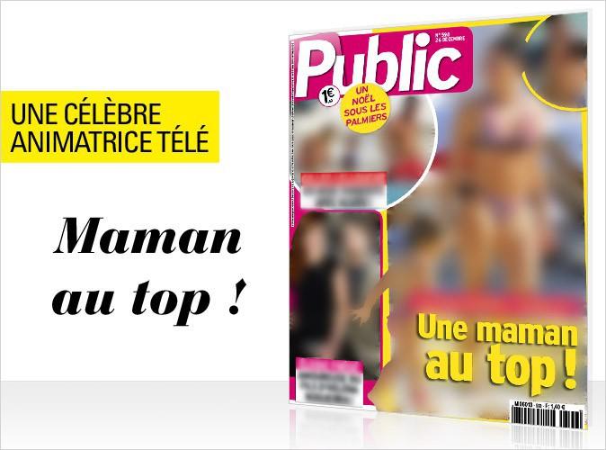 Magazine Public : une présentatrice télé française en couverture... Une maman top canon en bikini à Saint-Barth' !