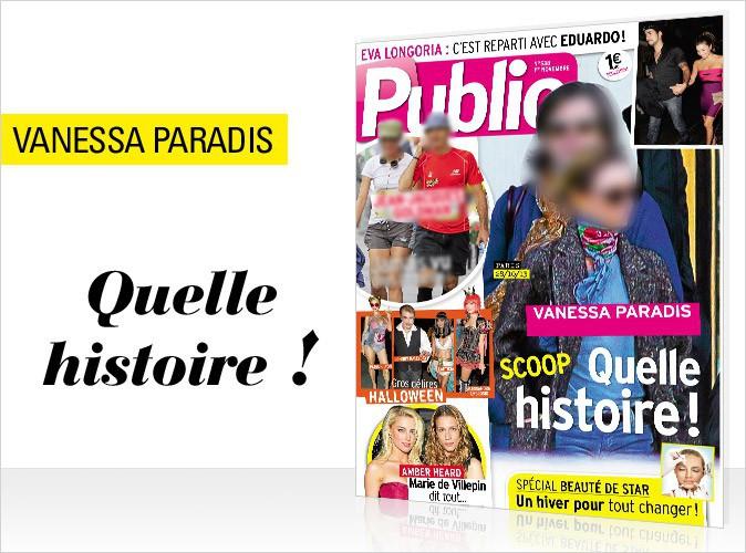 Magazine Public : Vanessa Paradis : nouveau tandem !