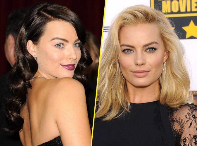 Margot Robbie : premier tapis rouge en brunette ! Vous la préfériez blonde ?