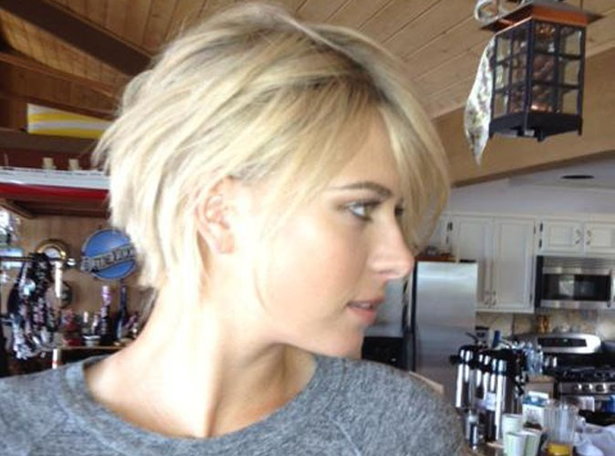 Maria Sharapova Short Haircut