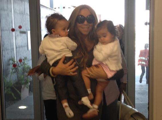 Mariah Carey : avec ses jumeaux, elle ne fait pas de chichis...