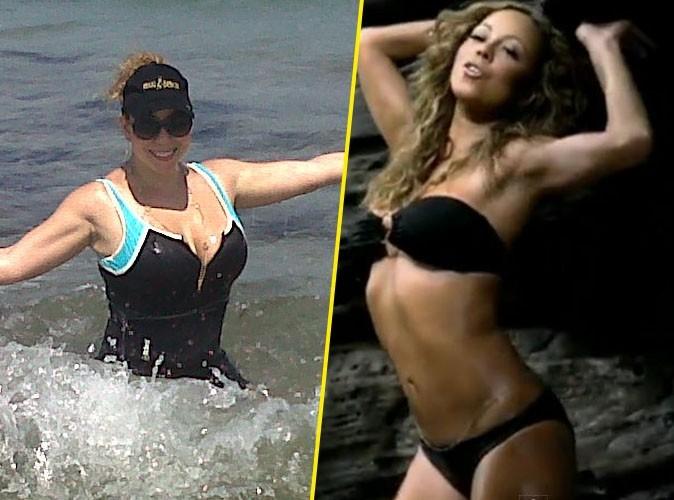Mariah Carey : elle se montre en maillot…son corps a bien changé !